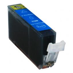 Kompatibel zu Canon CLI-526 Tintenpatrone Cyan mit Chip