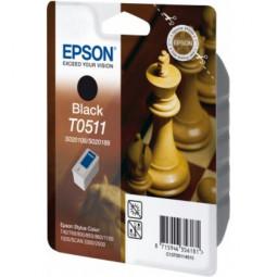 Original Epson C13T05114010 / T0511 Tinte Black