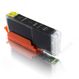 Kompatible Tintenpatrone für Canon CLI-551 Black inkl. Chip