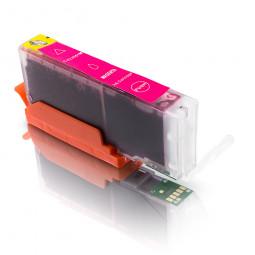 Kompatible Tintenpatrone für Canon CLI-551 Magenta inkl. Chp