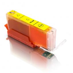 Kompatible Tintenpatrone für Canon CLI-551 Yellow inkl. Chip