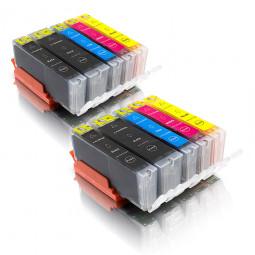 kompatibel zu Canon PGI-550/CLI-551, Combobox 10 er (2/2/2/2/2)