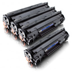 4er Sparset kompatibel zu HP CF283A / 83A