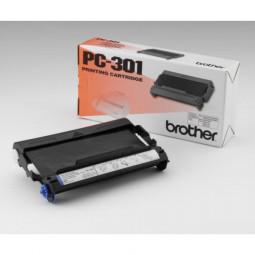 brother PC-301 schwarz Thermo-Druckfolie 1 Rolle