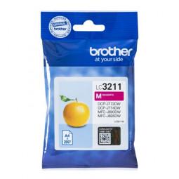 Original Brother LC-3211 M Tinte Magenta